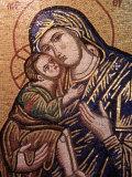 Madonna and Child Icon, Greece Photographic Print