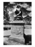 Memorial to Vincent and Robert Corbet, St Bartholomew's Churchyard, Shropshire, England Giclee Print by Simon Marsden