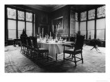The Dining Room, Wolfeton House, Dorset, England Giclee Print by Simon Marsden