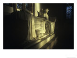 Tomb of Charles Sackville, 5th Duke of Dorset, St Peter's Church, Lowick, Northamptonshire, England Giclee Print by Simon Marsden