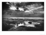 The Causeway, Holy Island, Northumberland Premium Giclee Print by Simon Marsden
