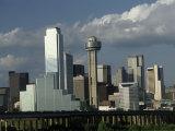 Dallas Skyline, Texas, Photographic Print