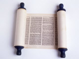Torah Photographic Print by David Wasserman