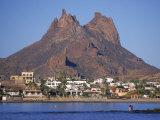 San Carlos, Sonora, Mexico Fotografisk tryk af Frank Staub