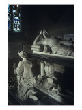 Monument to Sir John Hotham, St Mary's Church, South Dalton, Yorkshire, England Giclee Print by Simon Marsden