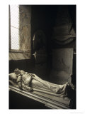 Effigy of William Harry Vane, 1st Duke of Cleveland, St Mary's Church, Staindrop,England Giclee Print by Simon Marsden