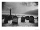 Whitby Graveyard, Yorkshire, England Giclee Print by Simon Marsden