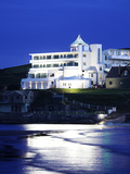 Burgh Island Art Nouveau Hotel, Devon, UK Photographic Print by David Clapp