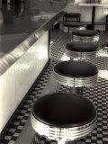 50s Style Cafe Fotografisk tryk af Gary Conner