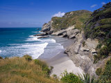 Secluded Beach, Cape Farewell, South Island Photographic Print by Bruce Clarke