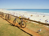 Mountain Bikes and Cable Beach, Broome Photographic Print by Ernest Manewal