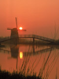 Holland Windmill Photographic Print by Dean Berry