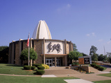 Football Hall of Fame, Caton, OH Fotodruck von Bill Bachmann