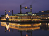 Victoria Riverboat Casino, Elgin, Illinois Photographic Print by Bruce Leighty