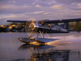 Float Plane Landing, AK Fotografie-Druck von Jim Oltersdorf