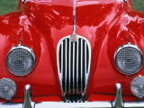 Front Detail of 1955 Jaguar Xk-140 Fotografie-Druck von Gary Conner