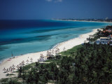 Varadero Beach, Matanzas, Cuba Photographic Print by Angelo Cavalli