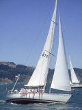42 Foot Beneteau Sailboat, San Francisco, CA Photographic Print by Reid Neubert