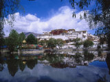 Tibet, Lhasa, Potala Palace Photographic Print by Michele Burgess