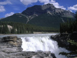 Jasper Area, Waterfall, Canada Photographic Print by Frank Perkins