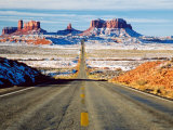Looking South Toward Monument Valley, Hwy 163 Photographic Print by James Denk