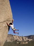 Rock Climbing, Joshua Tree, CA Photographic Print by Greg Epperson