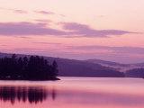 Sunset, Adirondack Lake, NY Fotodruck von Rudi Von Briel