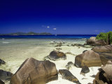 La Digue Isle, Seychelles, Indian Ocean Photographic Print by Angelo Cavalli