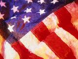 American Flag Photographic Print by Ellen Kamp