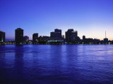 New Orleans Skyline at Night, Photographic Print
