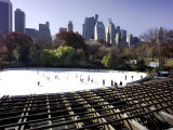 Skaters at the Wollman Rink Photographic Print by Ellen Kamp