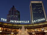 The Jacksonville Landing Photographic Print by Jeff Greenberg