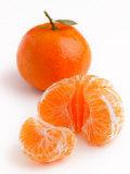 Spanish Clementines Whole Fruit and Peeled Fruit Segments Photographie par Susie Mccaffrey