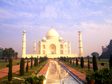 The Wonder of Taj Mahal, Agra, India Photographic Print by Bill Bachmann