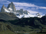 Mt. Fitzroy, Patagonia, Argentina Photographic Print by Walter Bibikow