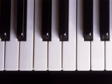Piano Keys Fotografie-Druck von Chris Rogers