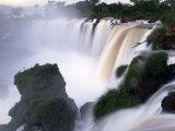Saltos San Martin, Iguazu Falls, Argentina Photographic Print by Walter Bibikow