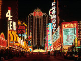 Las Vegas at Night, Nevada Photographic Print by Eric Figge