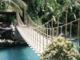 Rope Bridge, Acapulco, Mexico Photographic Print by Barry Winiker