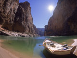 Empty Dory, Colerado River, Grand Canyon National Park, AZ Photographic Print by Amy And Chuck Wiley/wales