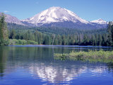 Manzanita Lake, Lassen Volcanic National Park, CA Photographic Print by Mark Gibson