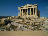 Parthenon in Athens, Greece Photographic Print by Peter Walton