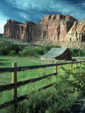 Capitol Reef National Park, UT Fotografisk tryk af Charles Benes