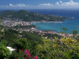Charlotte Amalie, St. Thomas, USVI Photographic Print by Michele Burgess