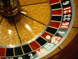 Close-up of a Roulette Wheel Photographic Print by Barry Winiker