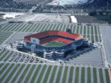 Aerial of Joe Robbie Stadium, Miami, FL Fotografie-Druck von Willie Hill Jr.