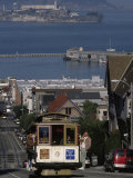 Cable CAr, Hyde Street, San Francisco, CA Photographic Print by Martin Fox