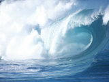 Big Waves on the North Shore of Oahu, HI Photographic Print by Gary Hofheimer