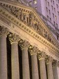 Architectural Detail of Stock Exchange, NYC Fotografie-Druck von Rudi Von Briel