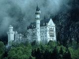 Castle, Neuschwanstein, Germany Fotodruck von Arnie Rosner
